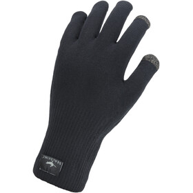 Sealskinz Waterproof All Weather Ultra Grip Gants en maille tricotée, black